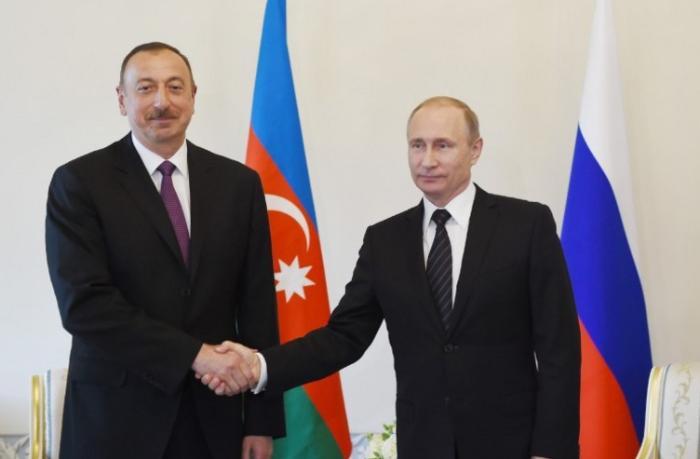 İlham Əliyevlə Vladimir Putin arasında telefon danışığı oldu
