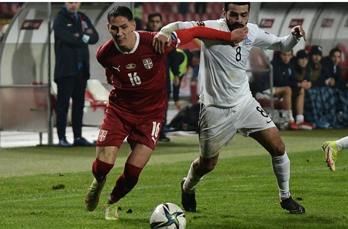 DÇ-2022: Azərbaycan millisi Serbiyaya uduzdu
