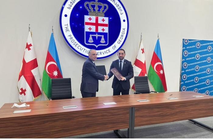 Azərbaycan və Gürcüstanın Baş prokurorları arasında görüş oldu — FOTOLAR