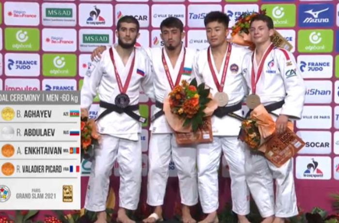 Böyük Dəbilqə: Cüdoçumuz qızıl medal qazandı