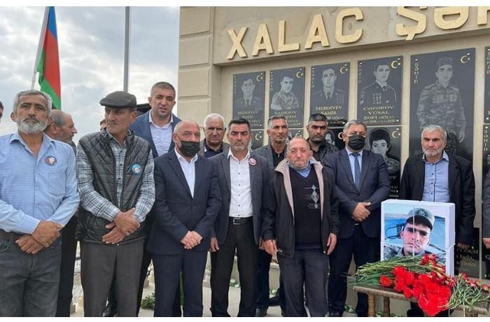 Şəhid Tərlan Gülüşovun xatirə kompleksinin açılışı oldu — FOTO