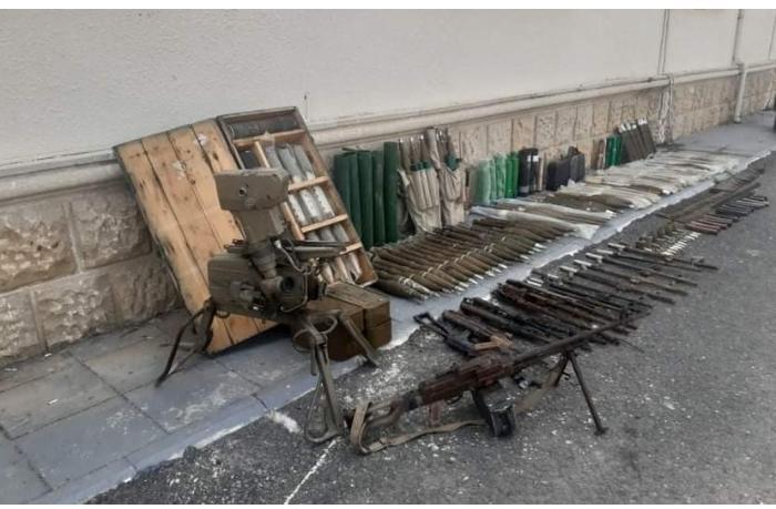 Düşmənin Füzulidə atıb qaçdığı silah-sursatın sayı açıqlandı — FOTO