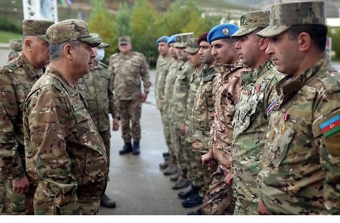 Azərbaycan Ordusunun yeni yaradılan komando hərbi hissəsi istifadəyə verilib — VİDEO