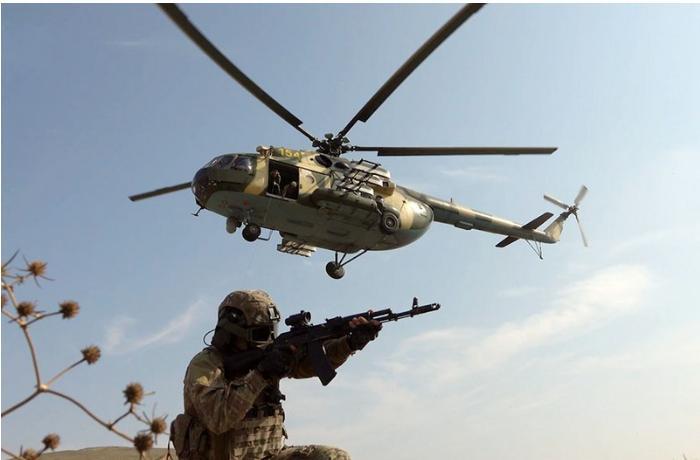 Azərbaycan xüsusi təyinatlı qüvvələrinin təlimləri davam edir — VİDEO