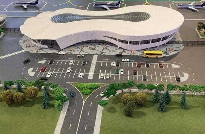 Zəngilan Beynəlxalq Hava Limanının maketinin görüntüləri paylaşılıb — FOTO