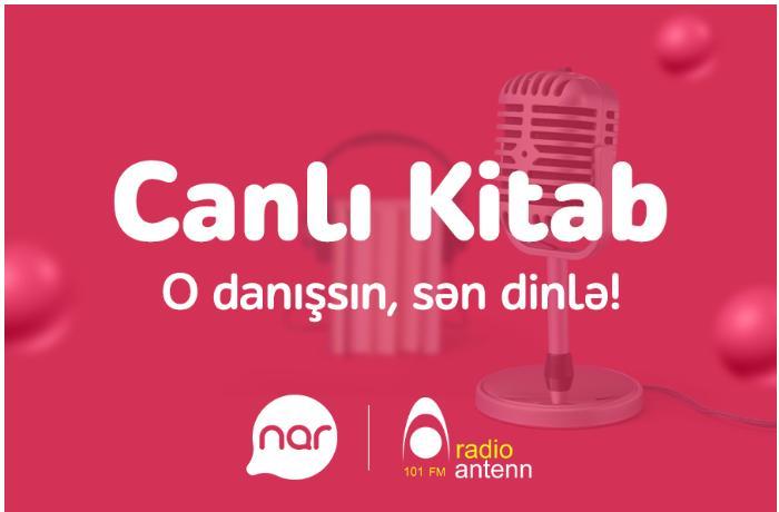 """""""Nar"""" ən böyük Azərbaycandilli səsli kitabxanaya dəstəyini davam etdirir"""