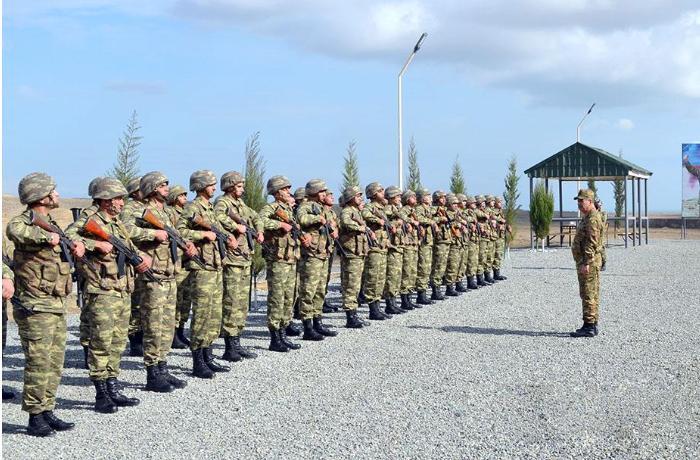 Azad olunan rayonlarda yeni inşa edilən hərbi obyektlər istifadəyə verildi — FOTOLAR