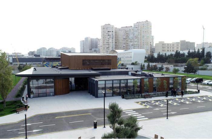 Prezident və birinci xanım DOST İnklüziv İnkişaf və Yaradıcılıq Mərkəzinin açılışında iştirak etdilər