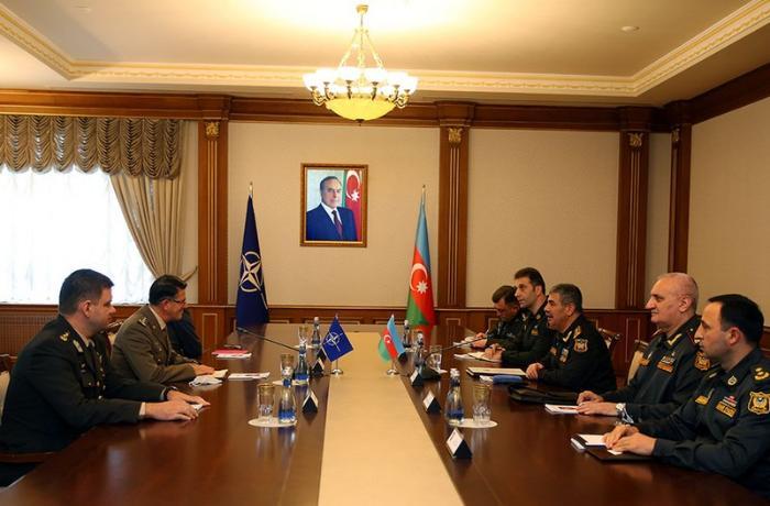 Zakir Həsənov NATO nümayəndəsi ilə görüşdü — FOTO