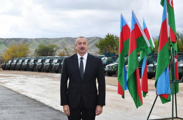 Ali Baş Komandan Qubadlıda DSX-nin yeni hərbi hissə kompleksinin açılışında iştirak etdi