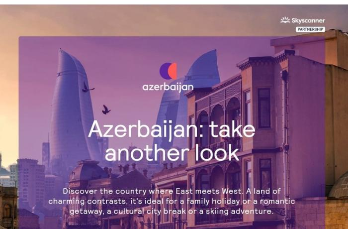 """Azərbaycan Turizm Bürosu """"Skyscanner"""" platforması ilə əməkdaşlığa başladı — FOTOLAR"""