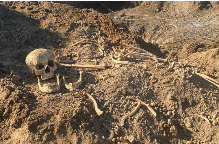 Ağdamın işğaldan azad olunan ərazisində insan sümükləri aşkarlandı