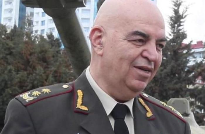 """Generaldan Ermənistana sərt xəbərdarlıq: """"Bizimkilər onları elə """"mələdəcək"""" ki..."""""""