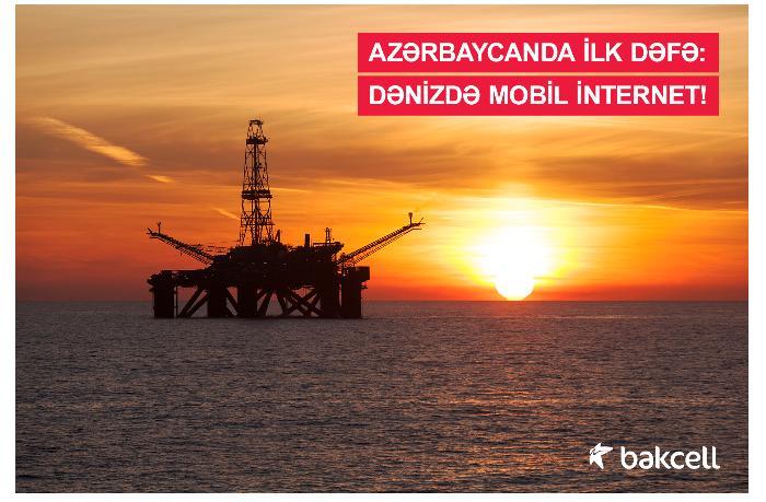 Azərbaycanda ilk dəfə: dənizdə mobil internet!