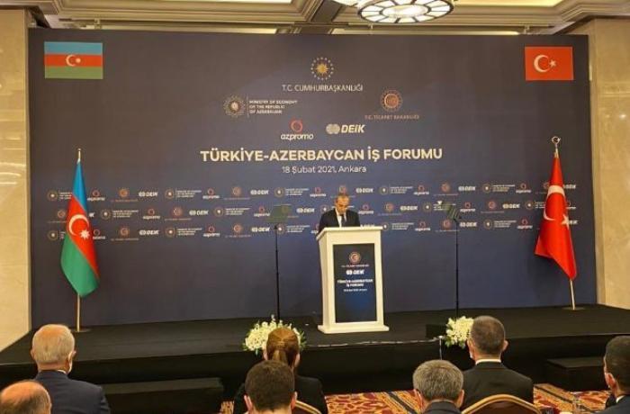 Türkiyə-Azərbaycan biznes forumundan FOTOLAR