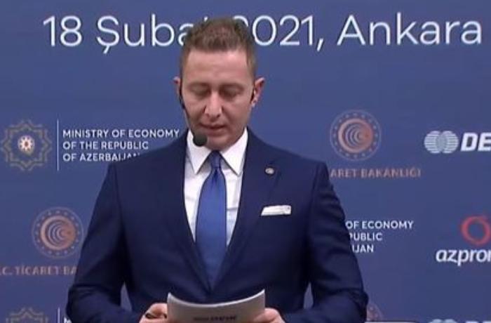 Ankarada Türkiyə-Azərbaycan iş adamları forumu keçirilir — CANLI