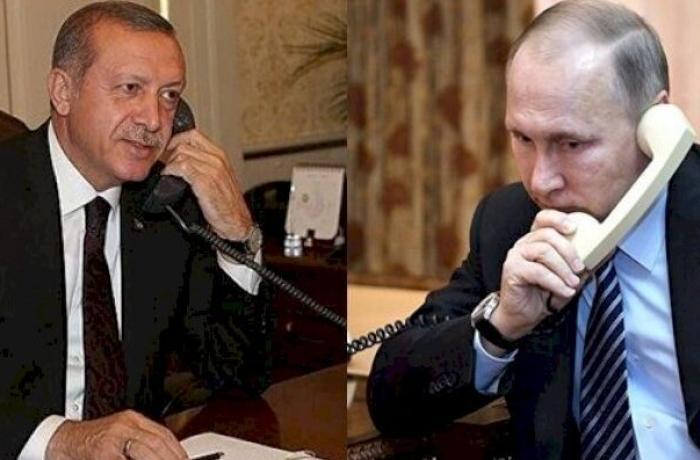 Ərdoğan və Putin Qarabağı müzakirə etdilər