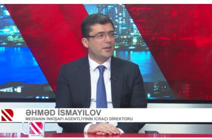 """Əhməd İsmayılov: """"Yeni qanun layihəsi media subyektlərinin bütün dairəsini əhatə edəcək"""" — VİDEO"""
