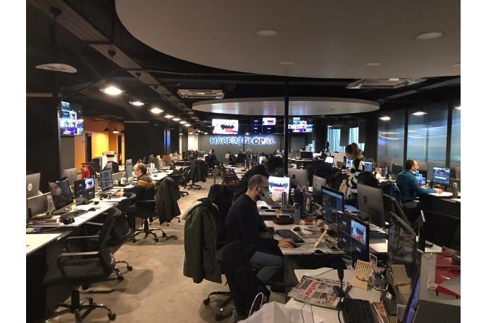"""""""Haber Qlobal"""": Bir millət, iki dövlətin tək mediası...(FOTOLAR)"""