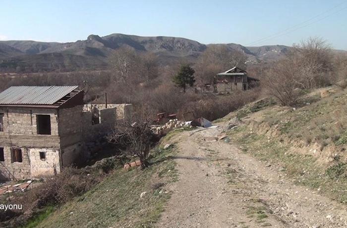 Qubadlının Hal kəndindən görüntülər — VİDEO