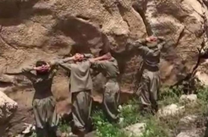 """Sağ ələ keçirilən PKK terrorçuları etiraf edir: """"Ermənilərə kömək üçün Qarabağa qüvvə göndərdik"""""""