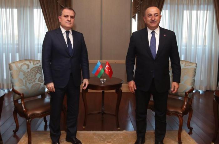 Azərbaycan və Türkiyə XİN başçıları Qarabağı müzakirə etdilər — YENİLƏNİB