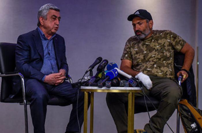 Paşinyan, yoxsa Sarkisyan: Hansı daha alçaqdır? — VİDEO