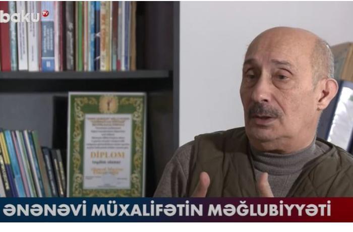 """Zərdüşt Əlizadə: """"Ənənəvi müxalifətin məntiqi düşünmə qabiliyyəti yoxdur"""" — VİDEO"""