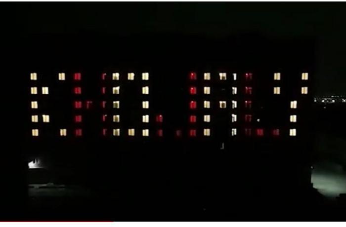 Bakıda Xocalı soyqırımı qurbanlarının xatirəsi ilə bağlı kompozisiya — VİDEO+FOTO