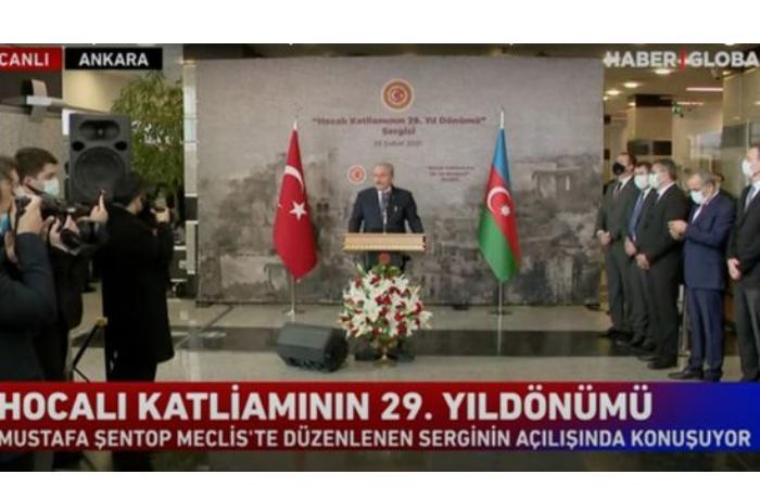 Xocalı soyqırımı Türkiyə Böyük Millət Məclisində anıldı — VİDEO