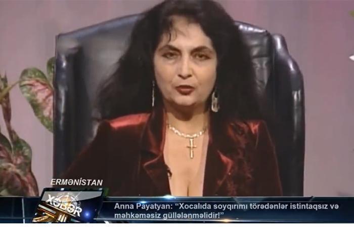 """""""Sarkisyan, Koçaryan, Ter-Petrosyan və digərləri uşaq cəlladlarıdır"""" — Payatyan"""