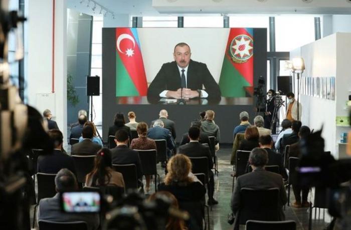 Gürcüstan mətbuatı İlham Əliyevin mətbuat konfransından yazır