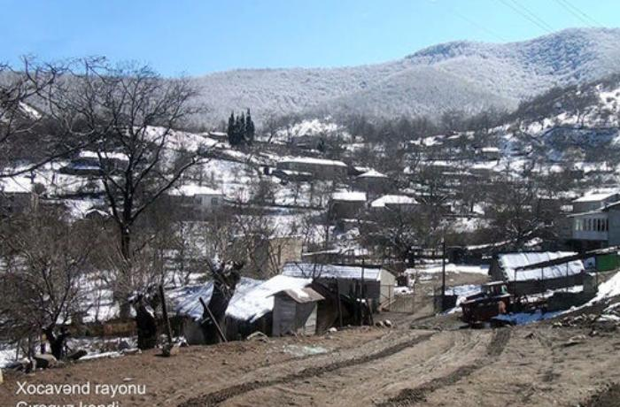 Xocavəndin Çiraquz kəndindən görüntülər — FOTO/VİDEO