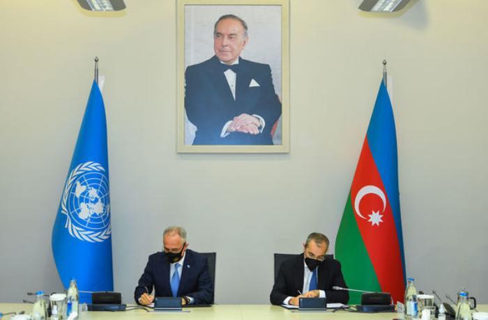 BMT ilə Azərbaycan arasında əməkdaşlıq sənədi imzalandı — YENİLƏNİB + FOTO/VİDEO