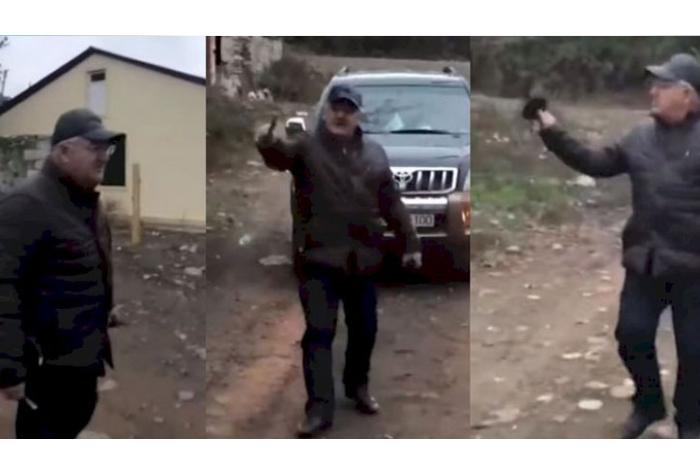 İcra başçısı işğaldan azad olunan kəndinə sərxoş vəziyyətdə gedib? — VİDEO
