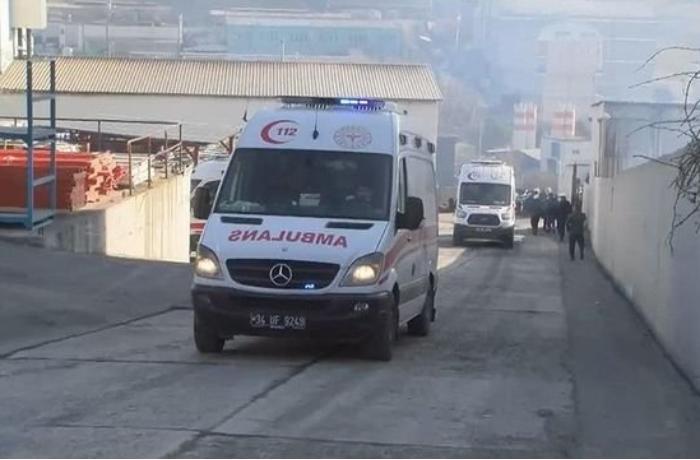 İstanbulda fabrikdə partlayış: Yaralılar var — VİDEO