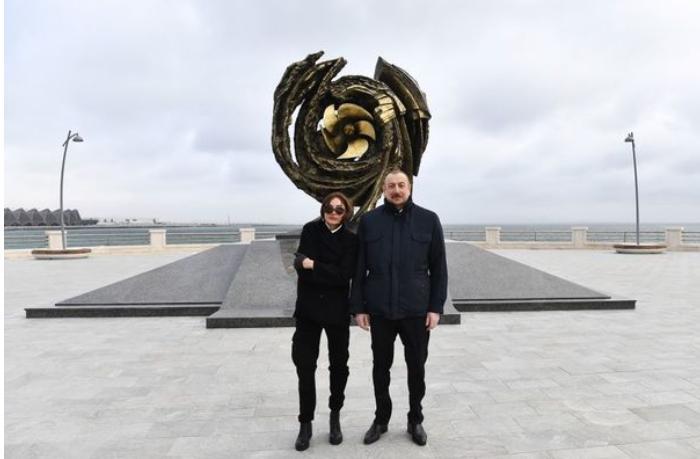 """Dünyada ilk dəfə Bakıda yaradılan """"Suraxanı"""" gəmi-muzeyinin açılışı oldu — YENİLƏNİB"""