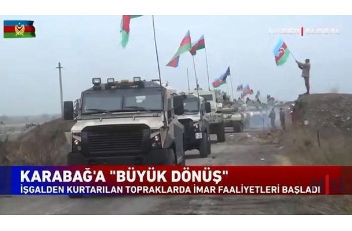 """""""Haber Global""""ın Qarabağa böyük qayıdış haqda süjeti — VİDEO"""