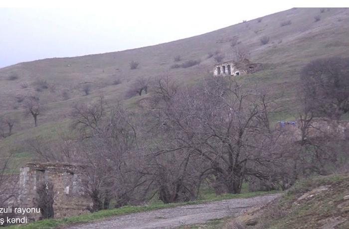 Füzulinin Arış kəndindən görüntülər — VİDEO