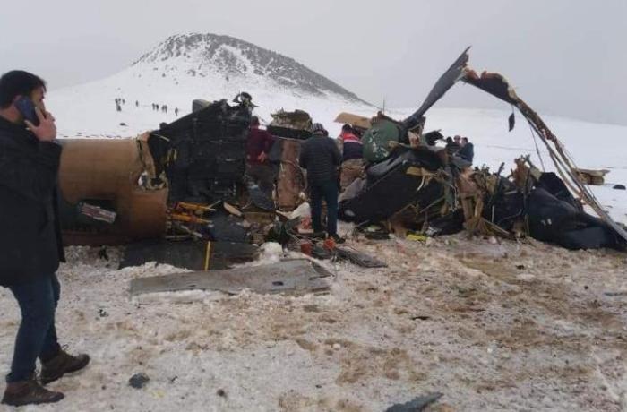 Türkiyədə helikopter qəzasında ölənlərin sayı yenidən artdı — YENİLƏNİB-2