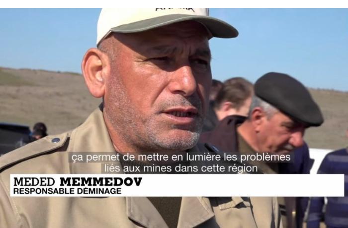 """""""France 24"""" Qarabağda aparılan quruculuq işlərinə dair reportaj yayımladı — FOTOLAR"""