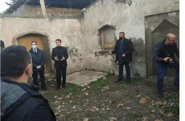 Diplomatik korpus nümayəndələrinin azad edilmiş ərazilərə səfəri başladı