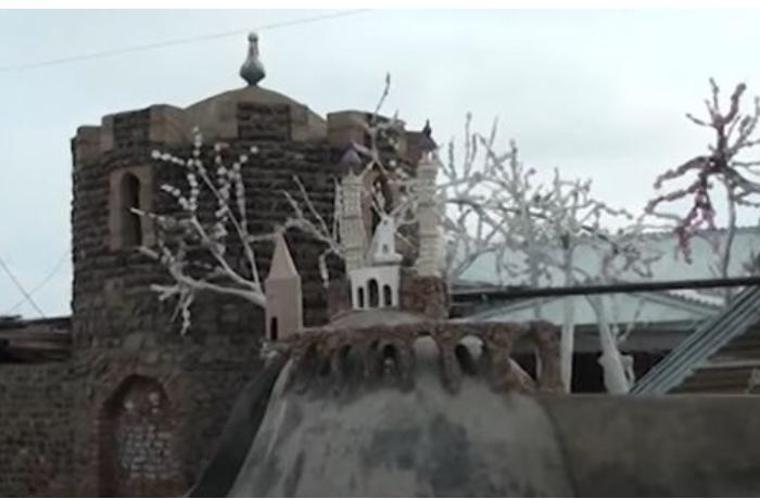 Şuşa məscidi və Xudafərin körpüsünün maketi hazırlandı — VİDEO
