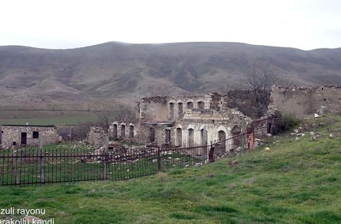 Füzulinin Qarakollu kəndindən görüntülər — VİDEO