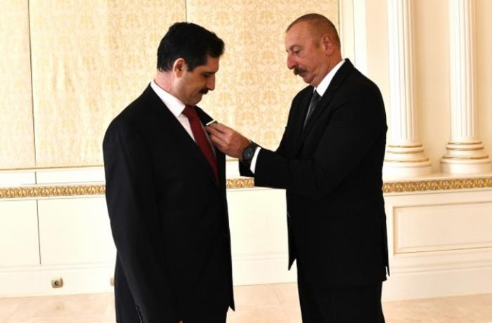 """Erkan Özoral """"Dostluq"""" ordeni ilə təltif edildi"""