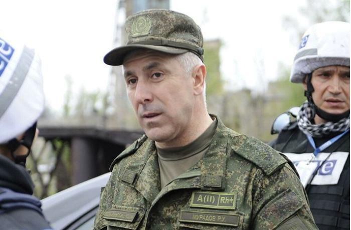 Erməni məmur general Rüstəm Muradovu təhqir etdi — FOTO