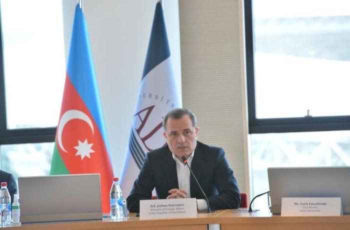 Ceyhun Bayramov rəsmi Yerevanın revanşist açıqlamalarından DANIŞDI