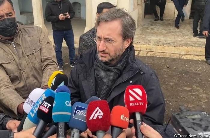 """Fahrettin Altun UNESCO-ya səsləndi: """"Ermənilərin iç üzlərini artıq görün"""""""