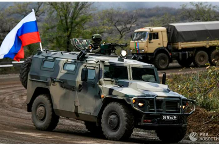 Ruslar Ordumuzun altı karvanını MÜŞAYİƏT ETDİ