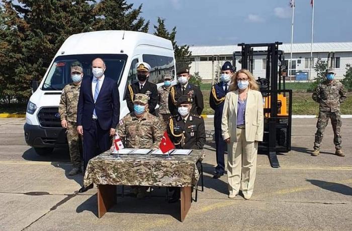 Türkiyə Gürcüstanın Marneuli hərbi aerodromunun bərpasına başladı